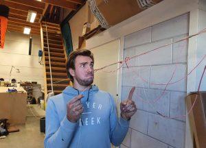 Kite lijnen reparatie stap 1
