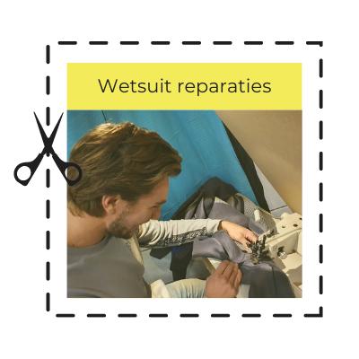 Wetsuit reparatie - kiterepair